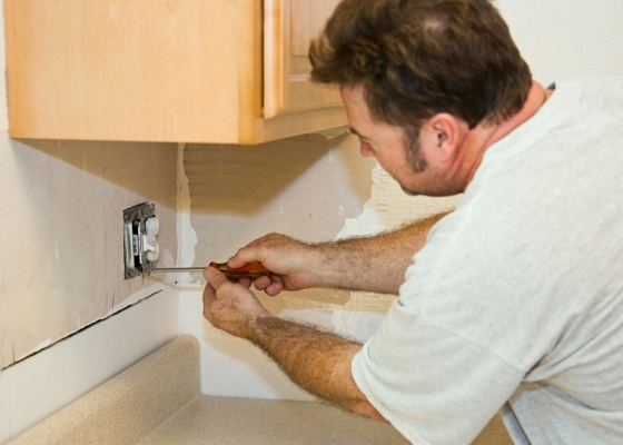 Homeowners can easily injure themselves and damage their property when attempting DIY home improvement projects that involve electrical wiring, plumbing or landscape work.