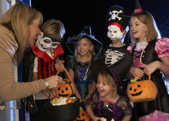 Keep trick-or-treaters safe on your property this Halloween with a few small property improvements.