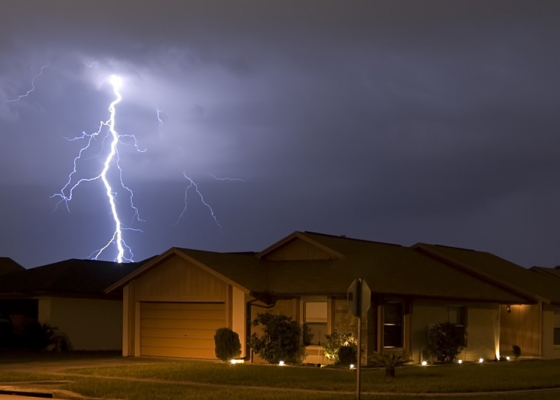 A single bolt of lightning can cause massive structural and property damage, both inside and outside of a home, apartment or business.  InsurTexas can help insure and protect your most valuable assets.