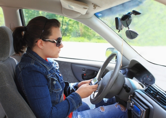 Common Distractions For Teen Drivers, Part One