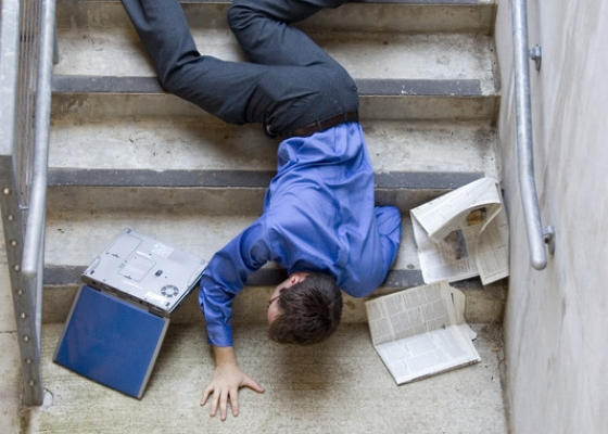 Three Ways To Reduce Slips and Falls On Company Property